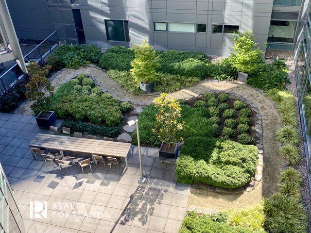 John Ross outdoor garden