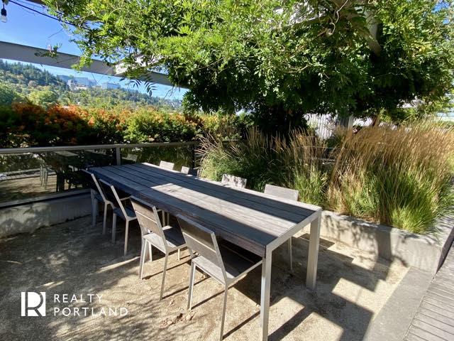 John Ross outdoor dining table