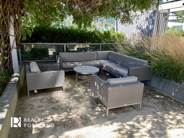 John Ross outdoor lounge