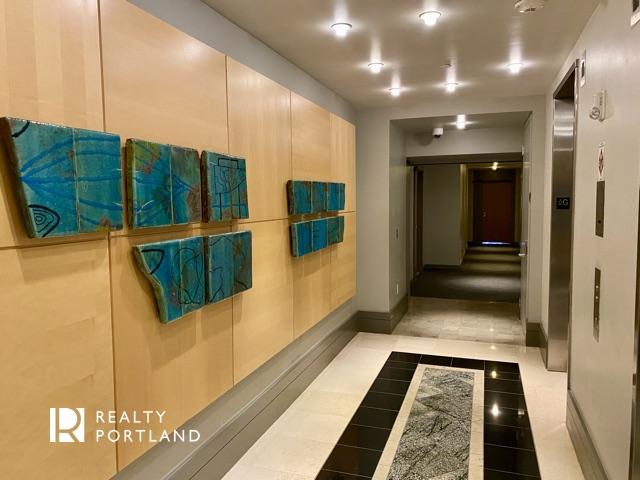Elevator lobby at Meriwether