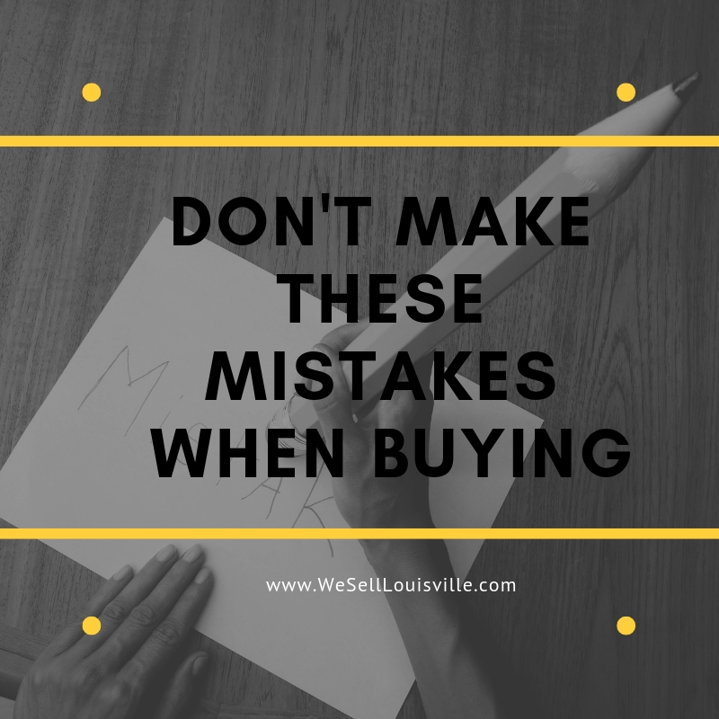 Buyer Mistakes