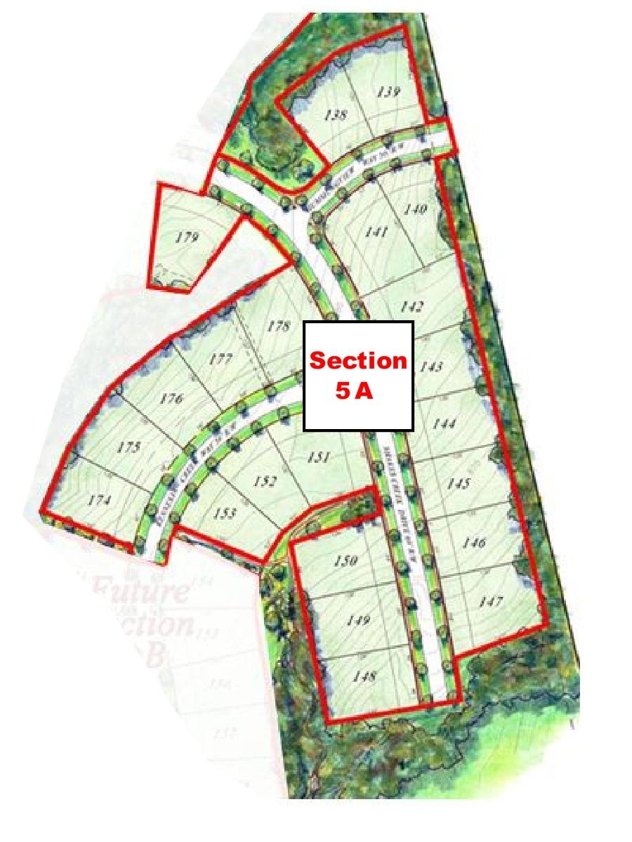 Shakes Run Plat Map