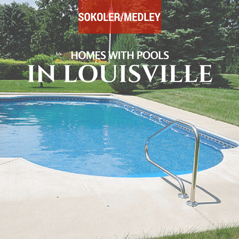 Homes with pools in Louisville