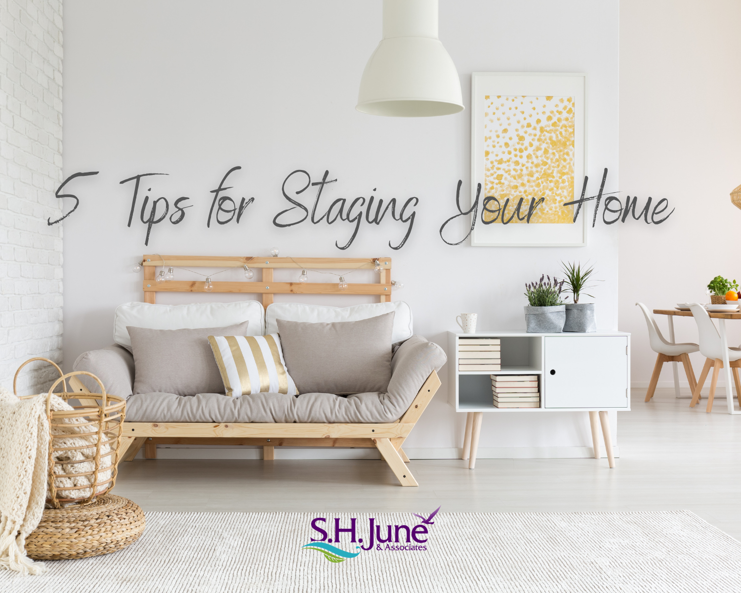 Staging your home is important to get your home sold quickly and for the highest price.