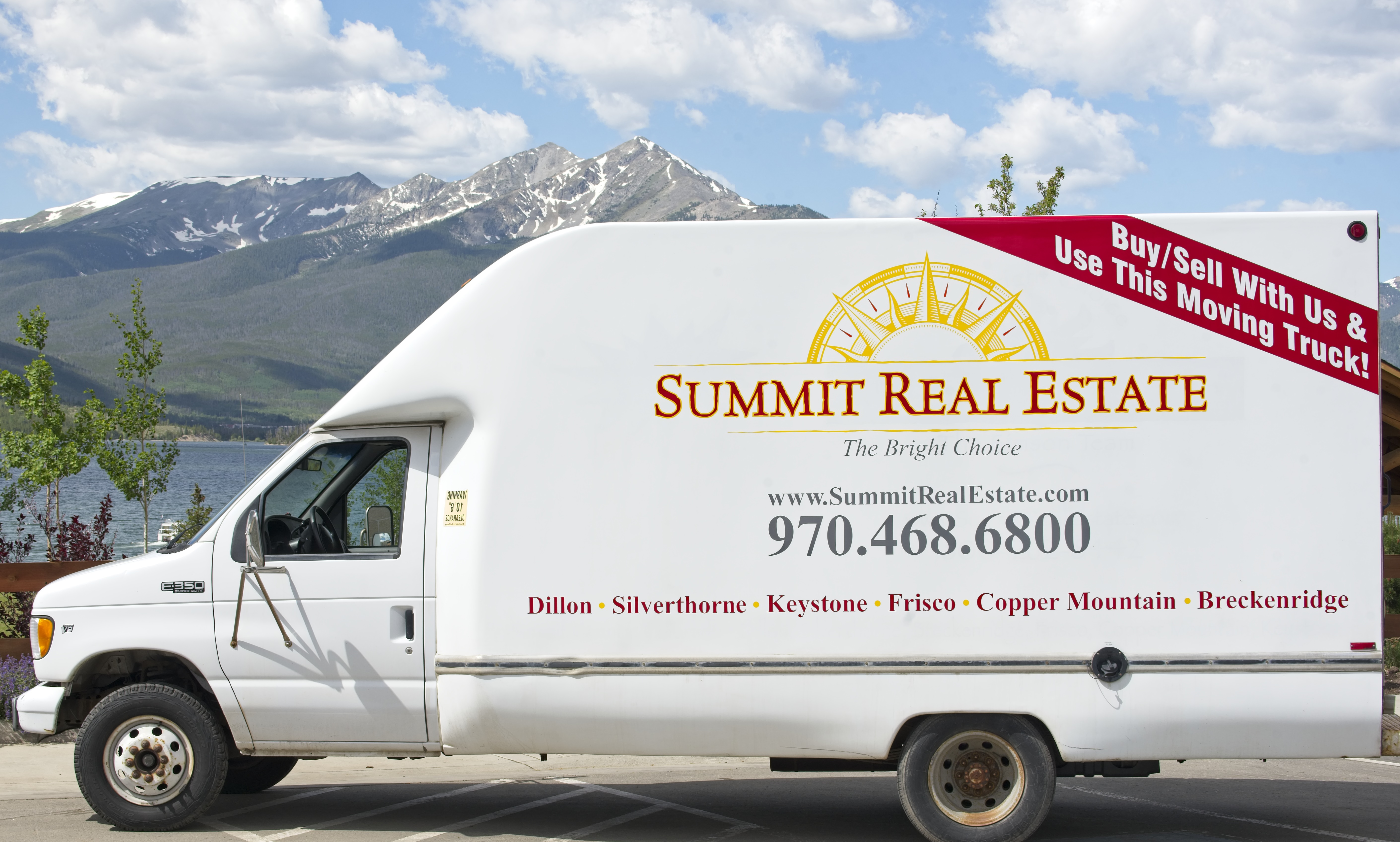 Summit Real Estate Moving Truck