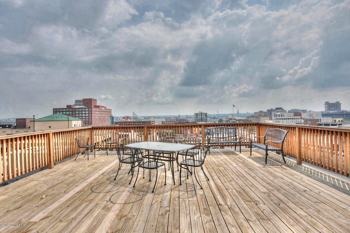 133 S 3rd St 207 Louisville, KY 40202 Rooftop Deck