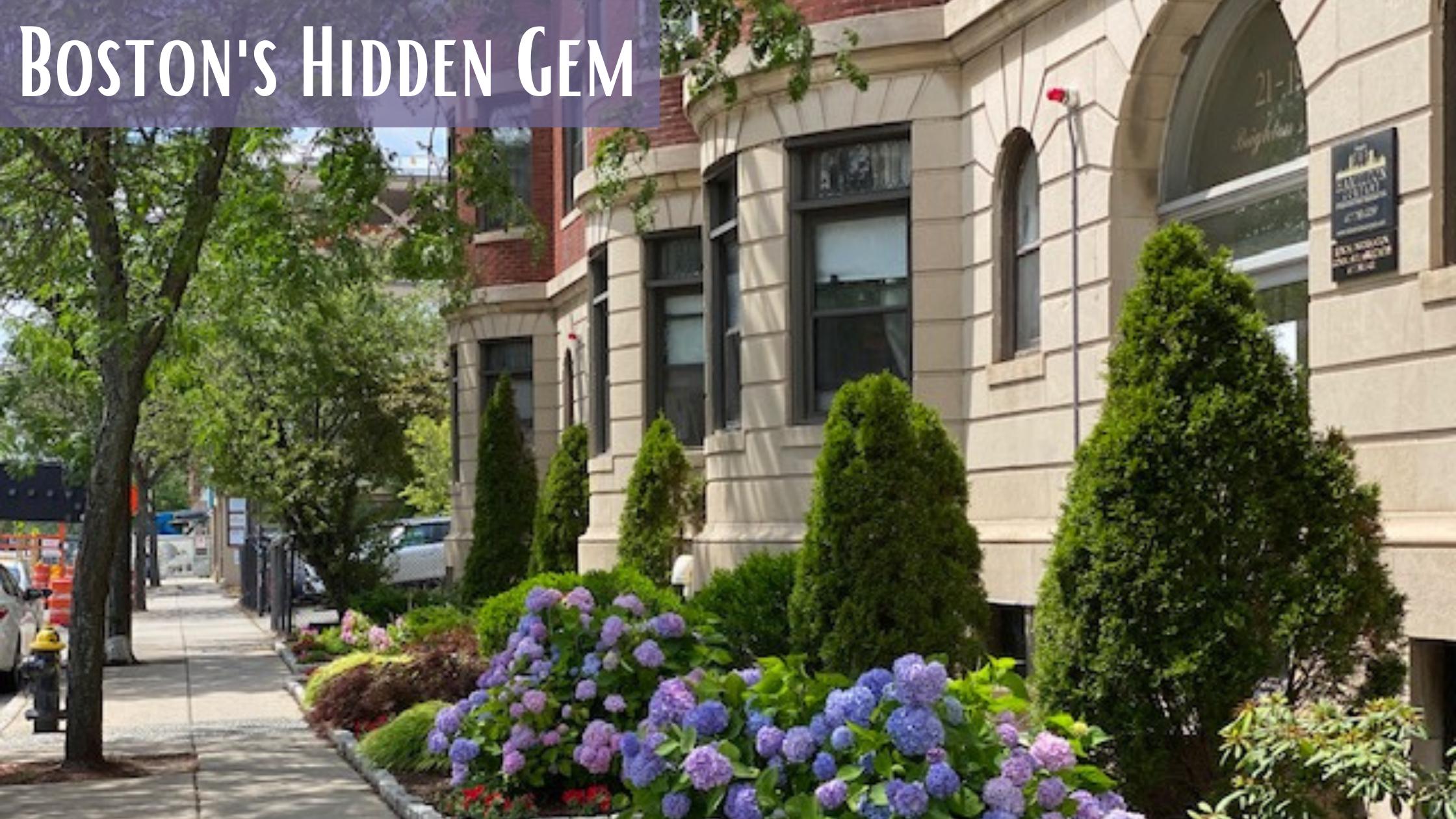 the community of Allson, one of Boston's hidden gems