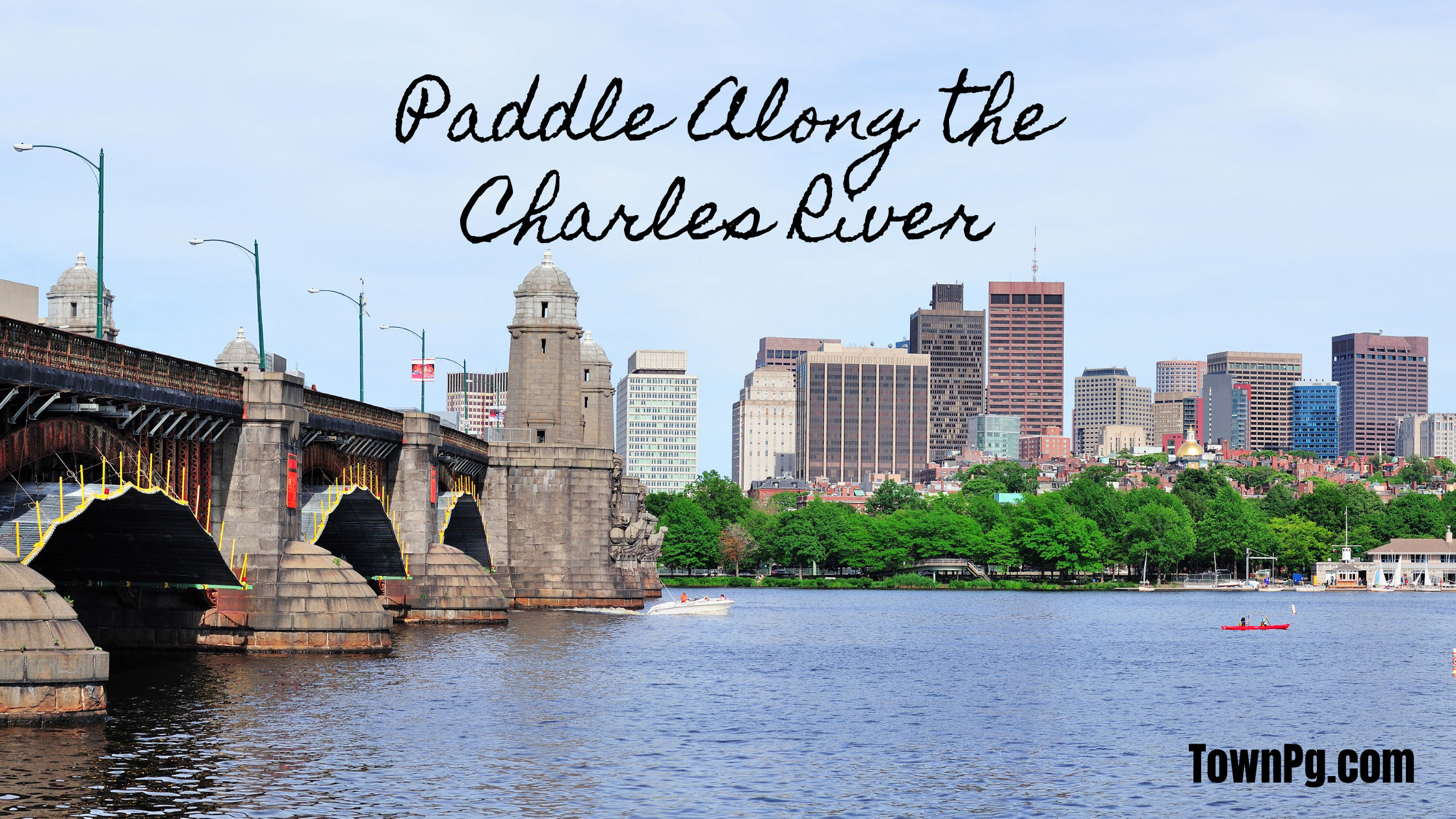 Paddle Along the Charles River