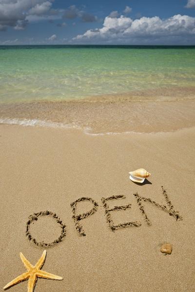 Beach is Open!