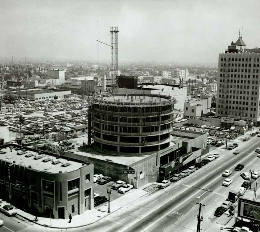 Vintage Capitol Records Tower Photo