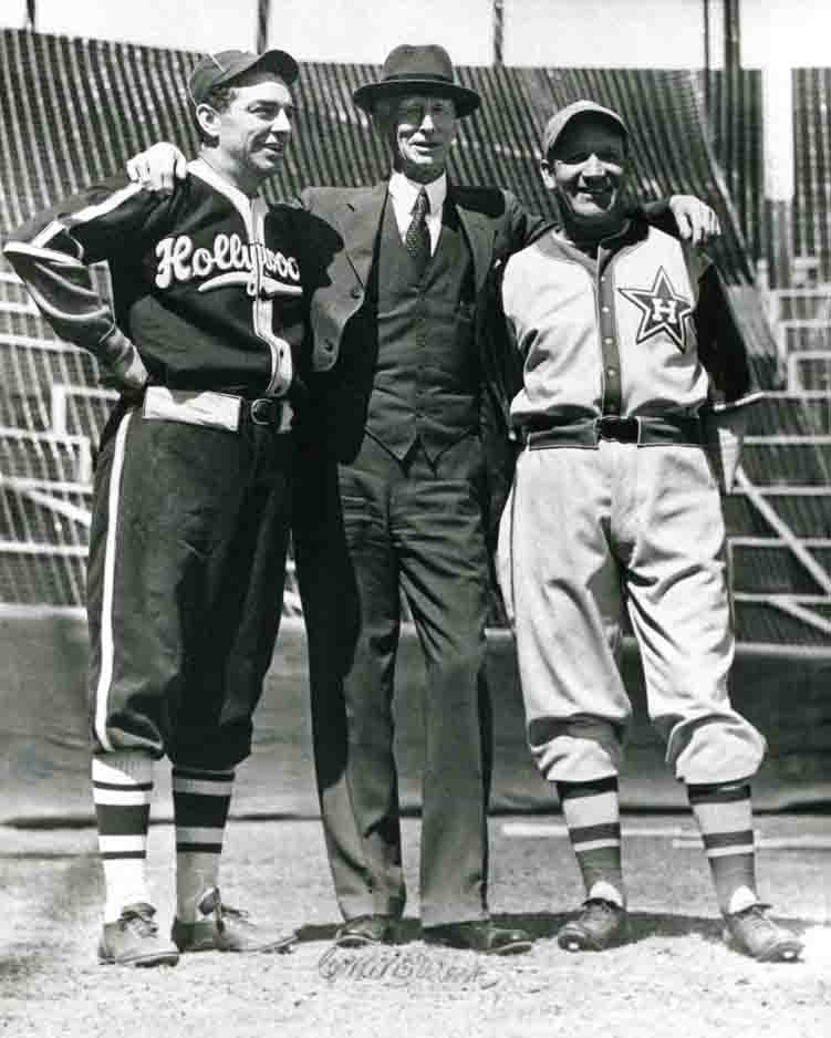 Hollywood Stars baseball team photo
