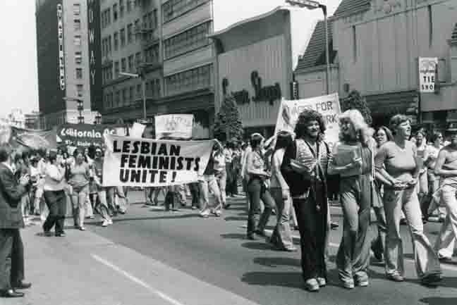 Great photo of Hollywood Gay Pride Parade