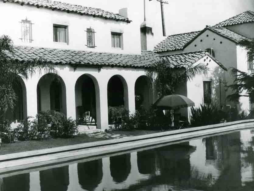 Vintage Garden of Allah Hotel photo