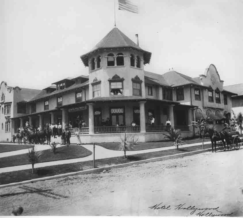 Historic Hollywood Hotel Photograph