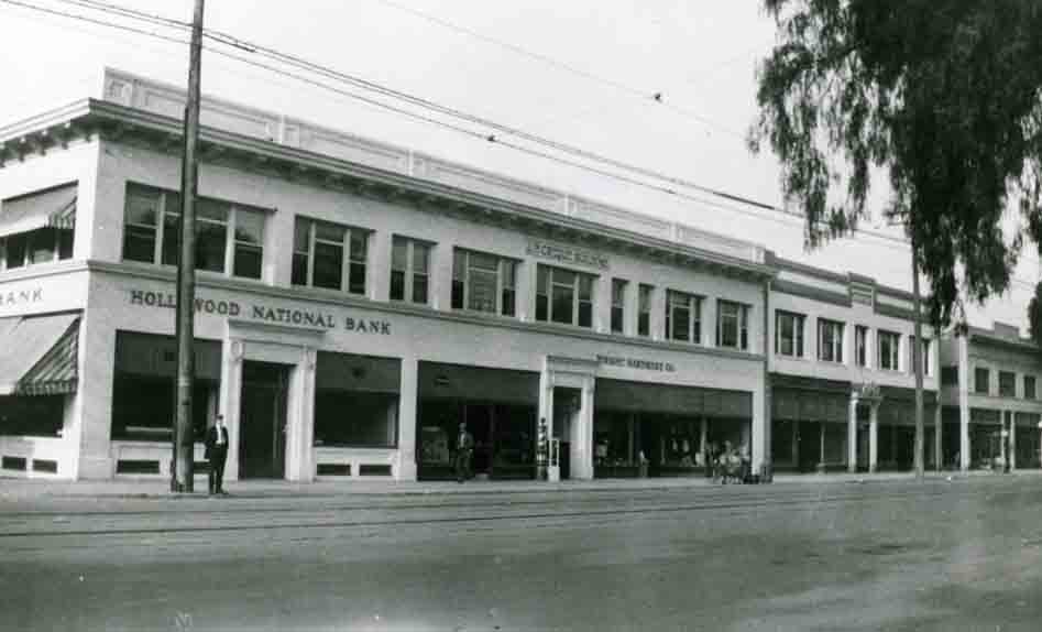 Bank of Hollywood Photo