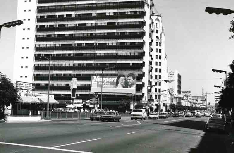 Early photo of Hollywood Blvd. & Highland Ave.