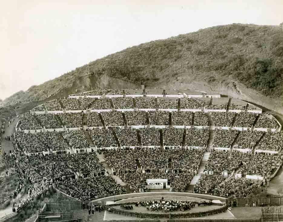 Historic photo of Hollywood Bowl