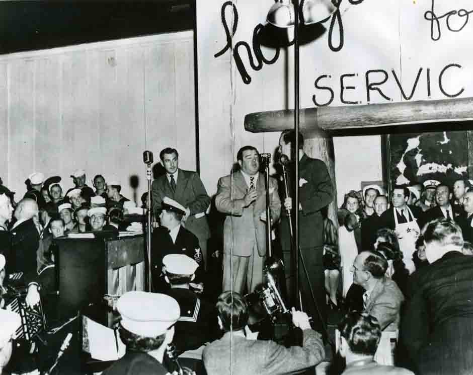 Vintage photo of the Hollywood Canteen