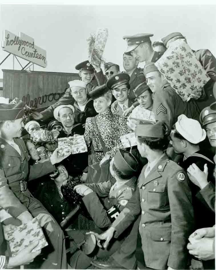 Historic photo of Hollywood Canteen