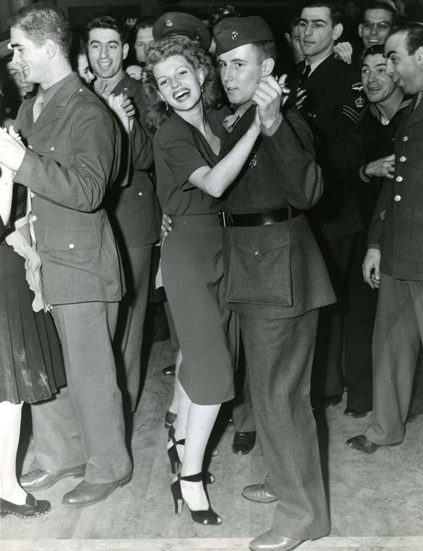 Photo of Rita Hayward at Hollywood Canteen
