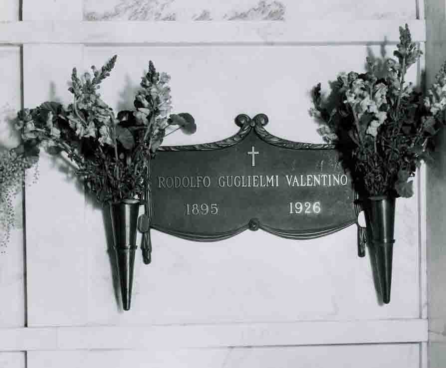 Valentino's crypt photo