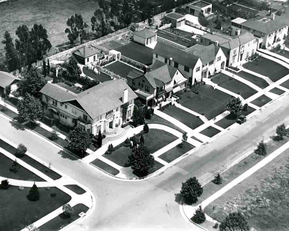 Historical photo of Windsor Square