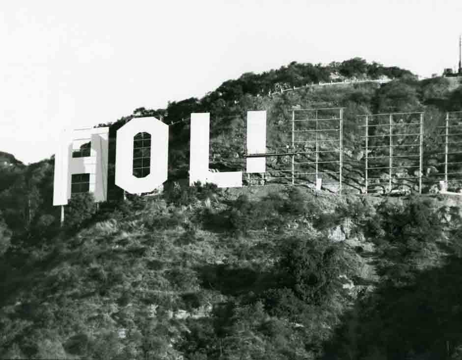 1978 The new Hollywood Sign photo