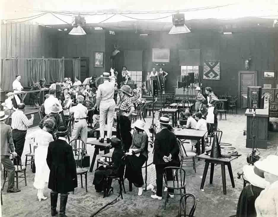 Historic Photo of Hollywood Movie studio photos