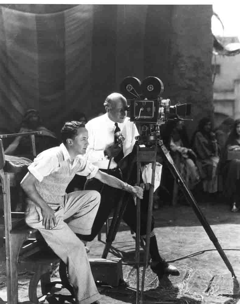 Historic photo of C. B. DeMille in Hollywood