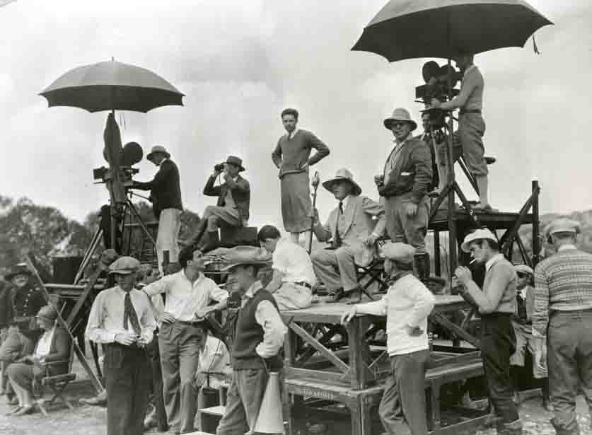 D.W. Griffith film making photo