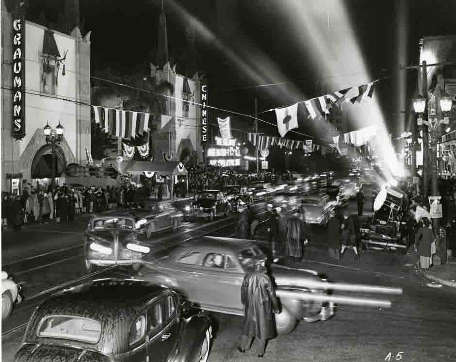 Old photo of Premiere at Chinese Theater