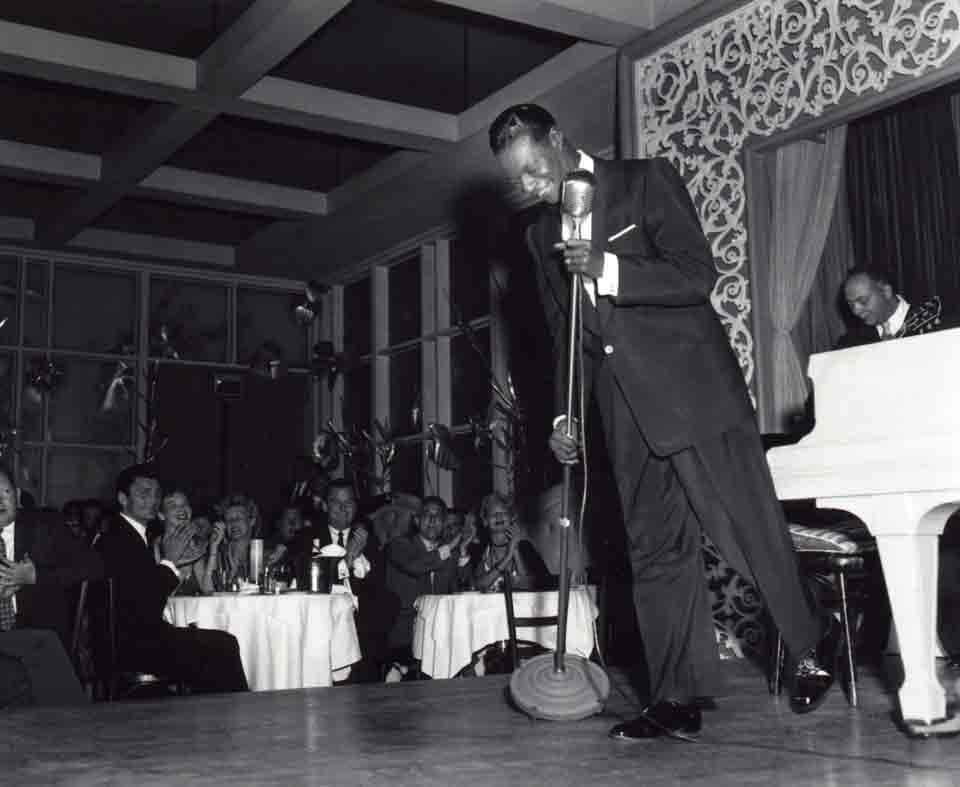 Nat King Cole at Ciro's Nightclub