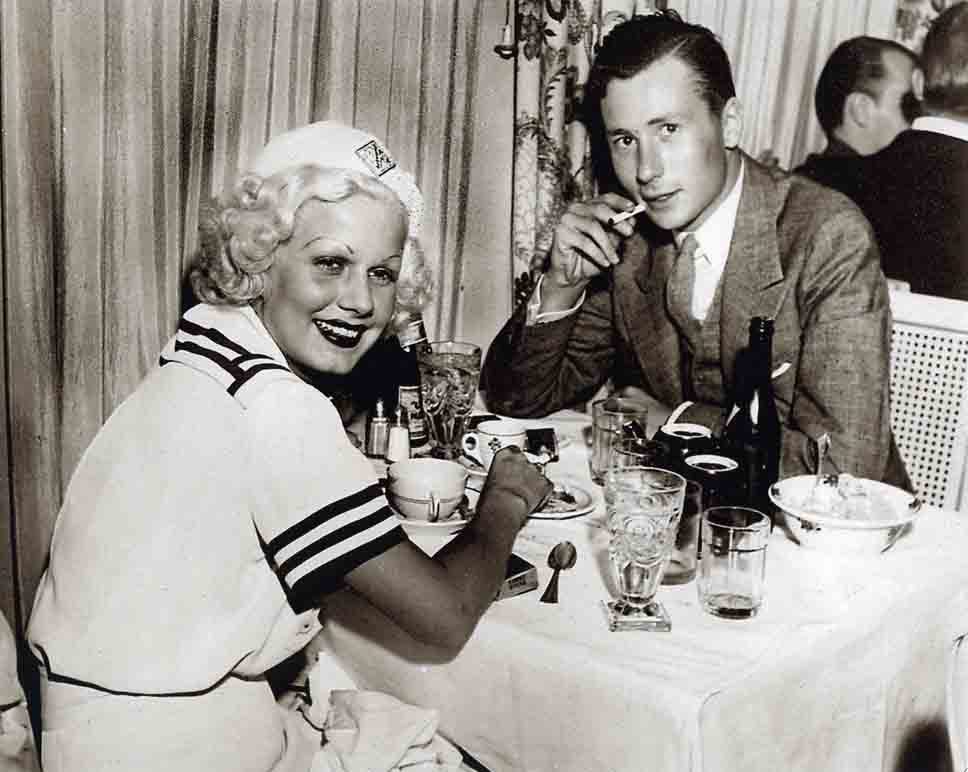 Vintage Photo of Jean Harlow