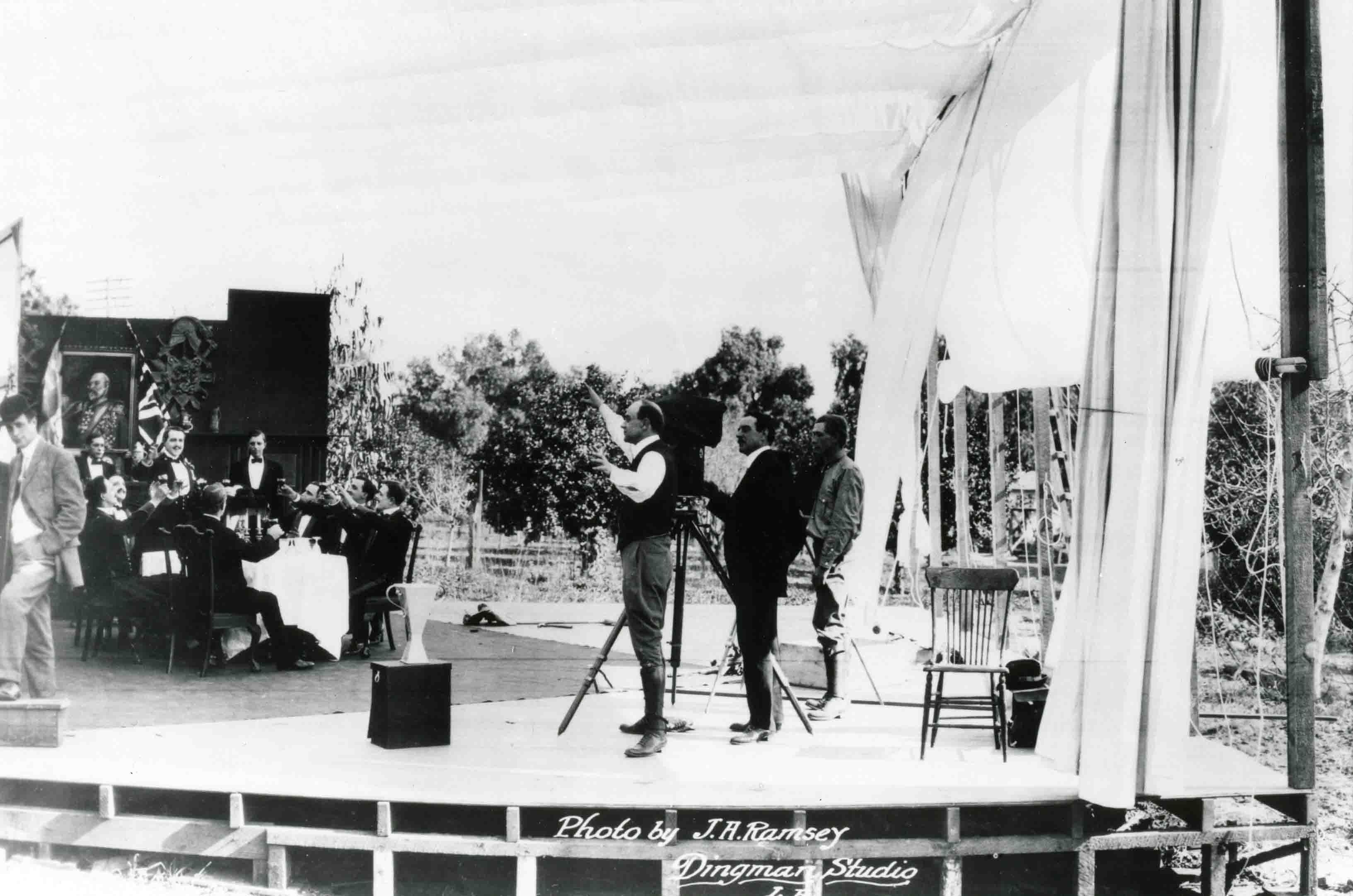 Early photo of Jesse Lasky Studio