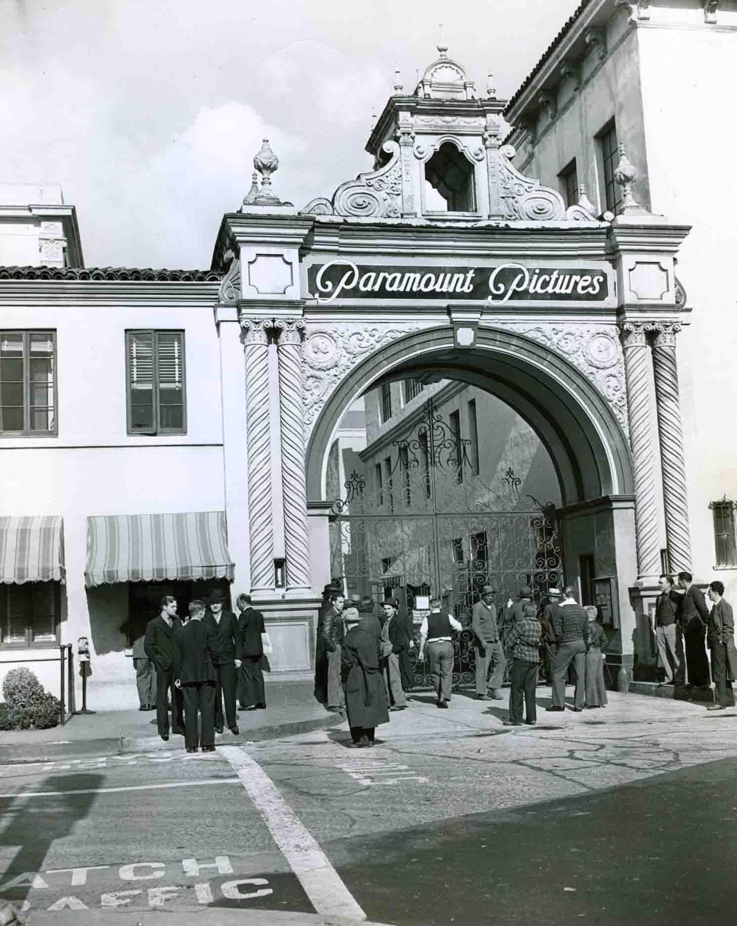 Paramount studio photo