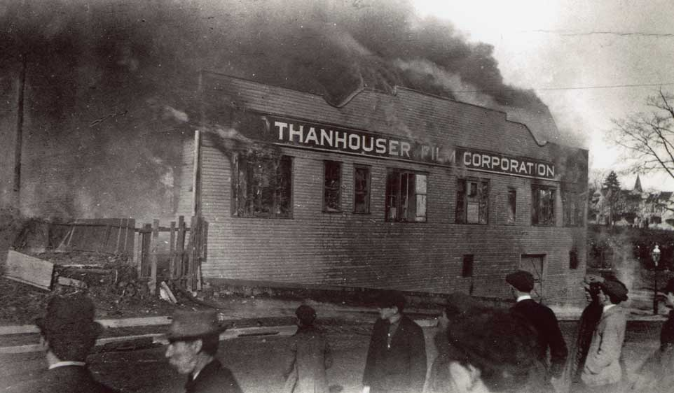 Thanhouser fire photo