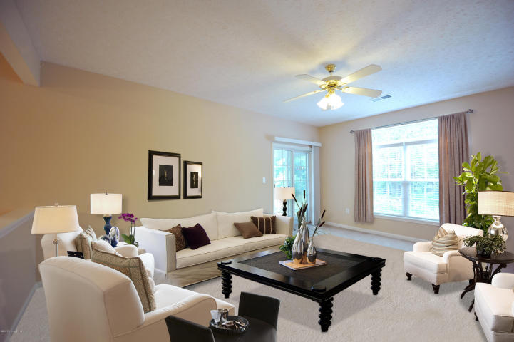 Living Room at 8303 Savannah Springs