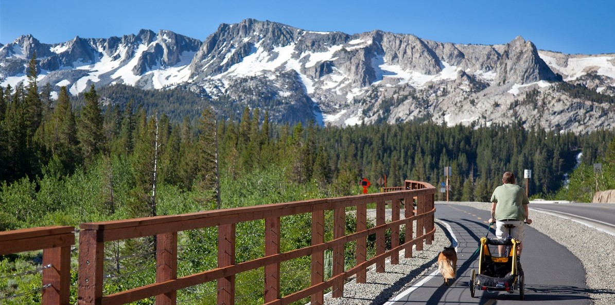 mammoth lakes bike path