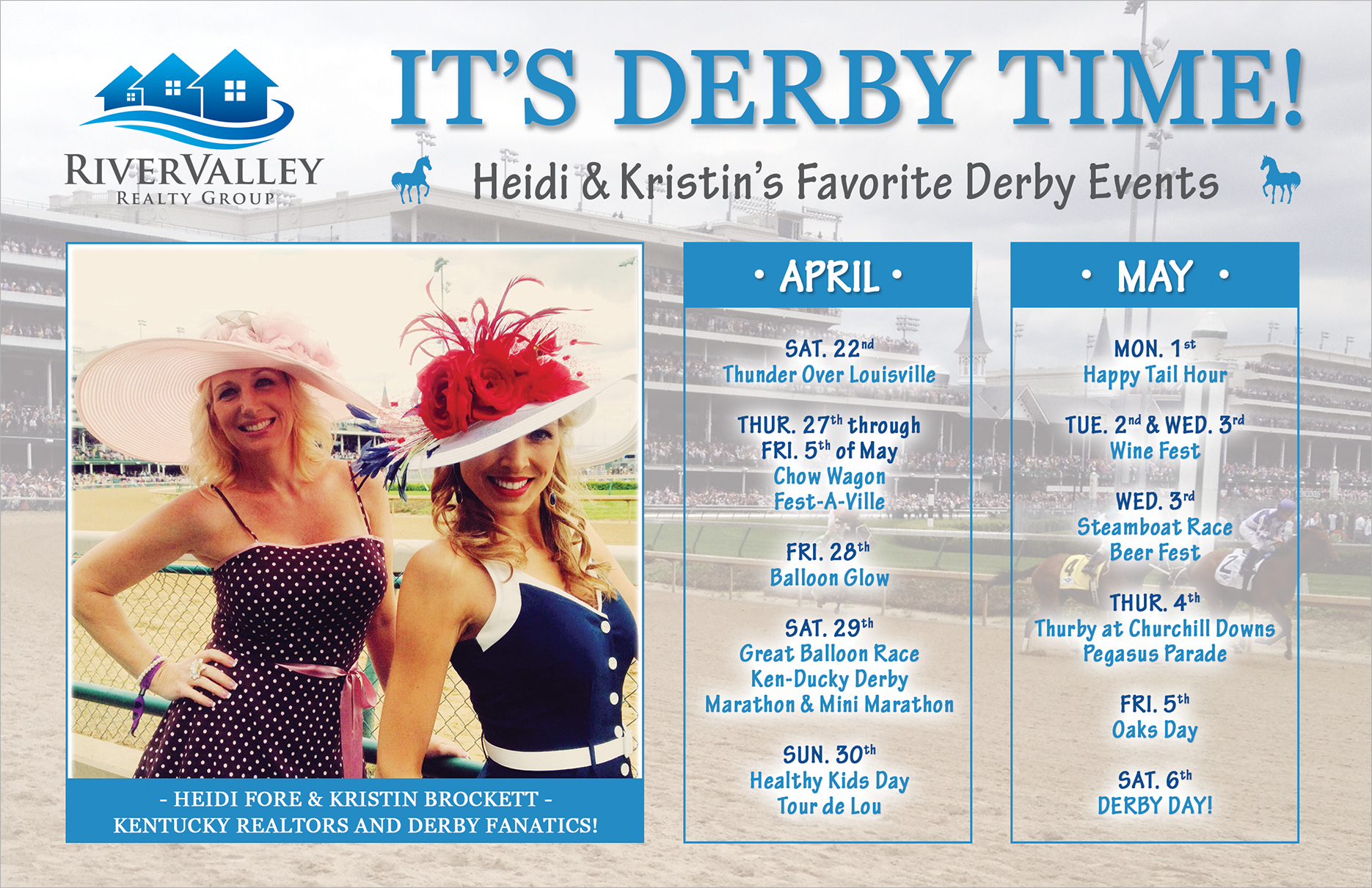 Heidi Fore & Kristin Brockett's Favorite Derby Events!
