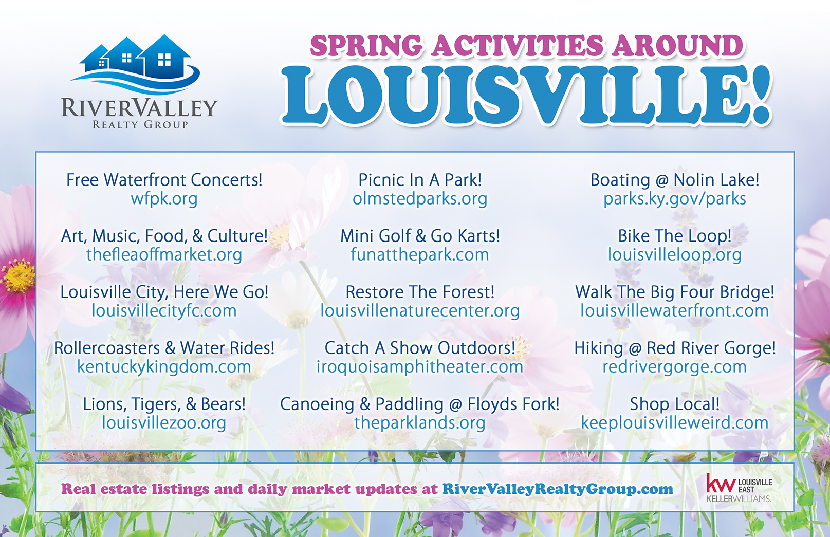 Spring activities to check out around Louisville.