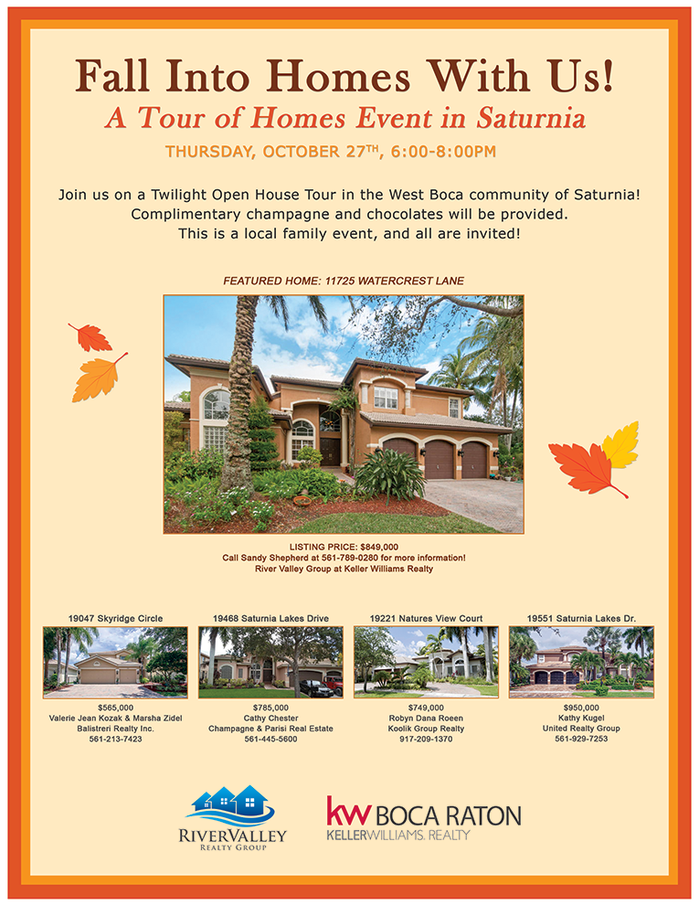 Boca Twilight Open House Tour