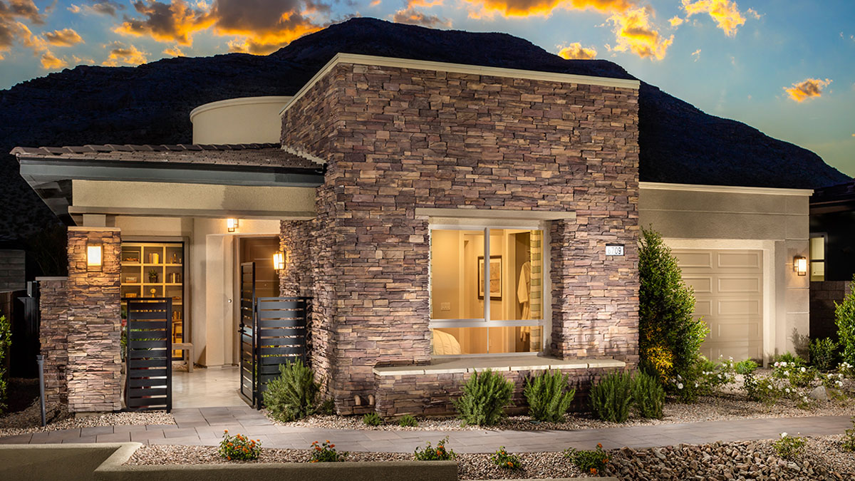 Regency at Summerlin - The Summit Collection Gilmore High Plains Exterior
