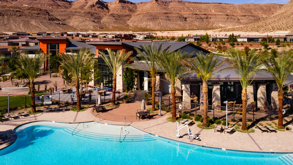 Age-Qualified Summerlin Homes for Sale - Regency in Summerlin Clubhouse