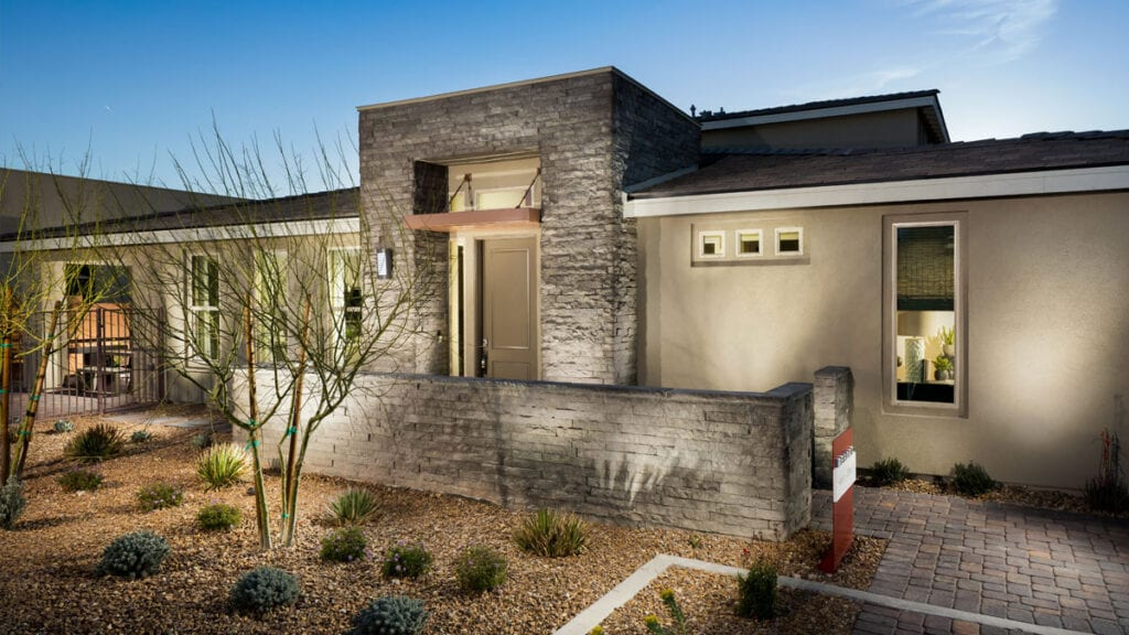 """Single Story 55+ Homes in Summerlin - Trilogy in Summerlin """"Haven"""" Model from Resort Collection"""