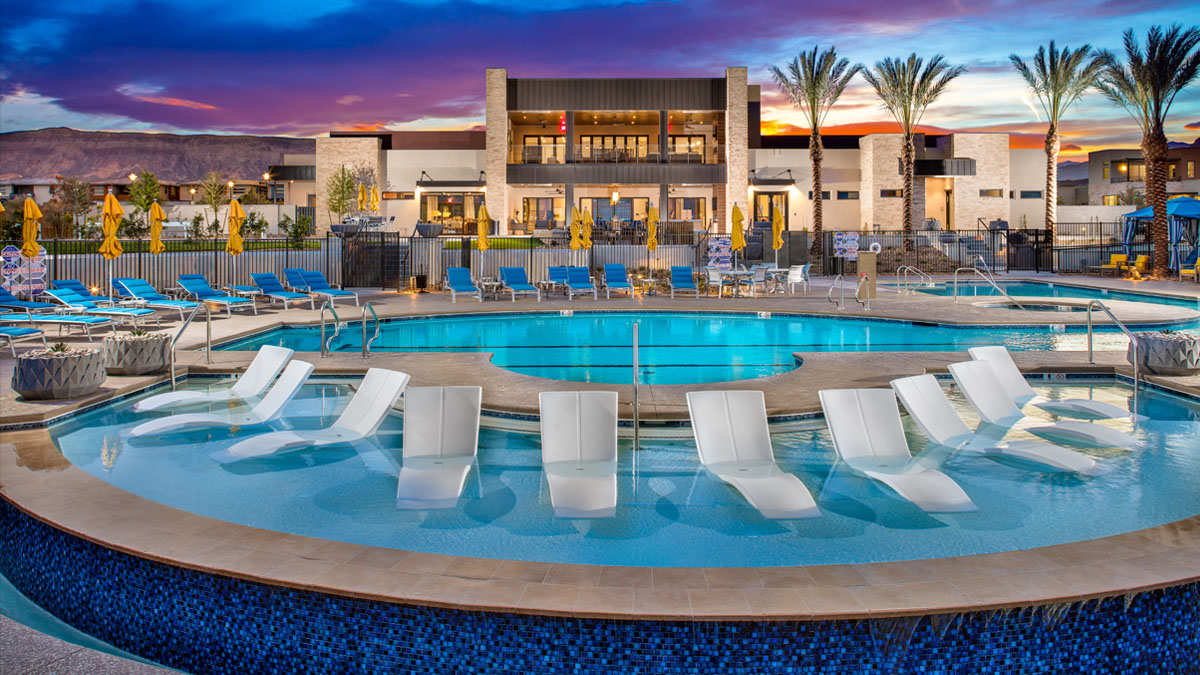 Trilogy at Summerlin Outlook Clubhouse