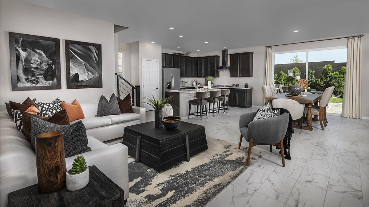 KB Home at Inspirada - Landings Great Room