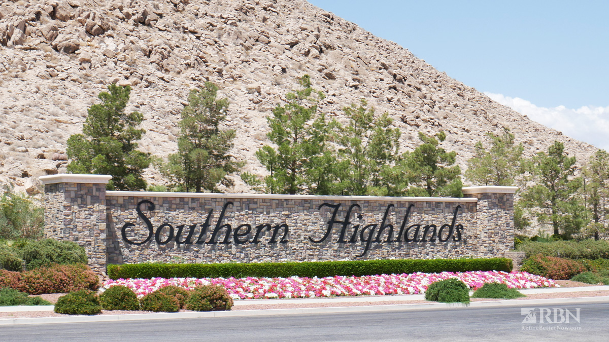 Las Vegas Suburbs - Southern Highlands NV