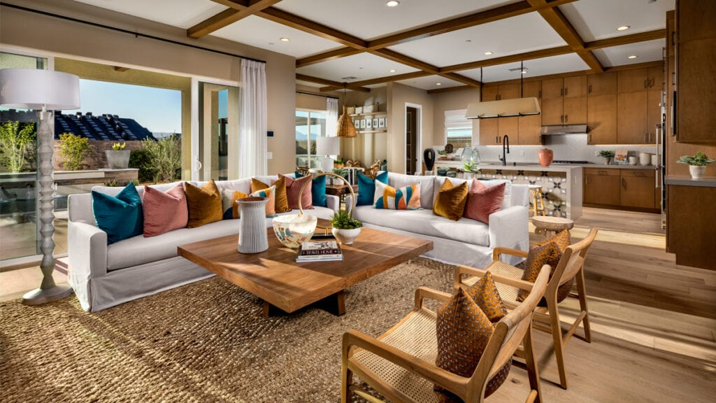 Ravenna by Toll Brothers Great Room - Inspirada in Henderson, NV