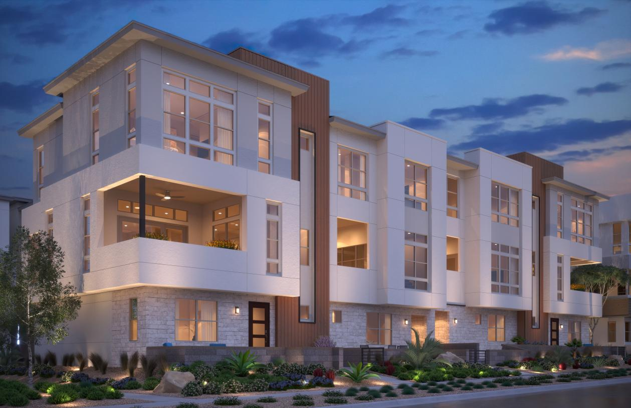 Cordillera by Toll Brothers at Redpoint Square - Casella Rendering - Credit: Toll Brothers