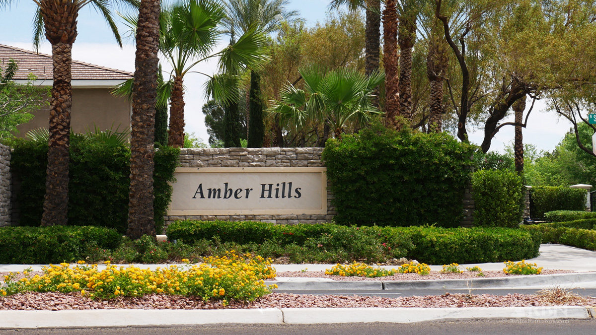 Amber Hills in Summerlin, Las Vegas, NV